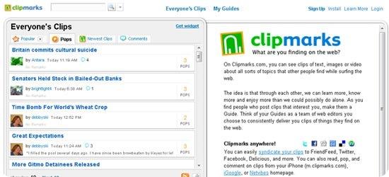 Clipmarks