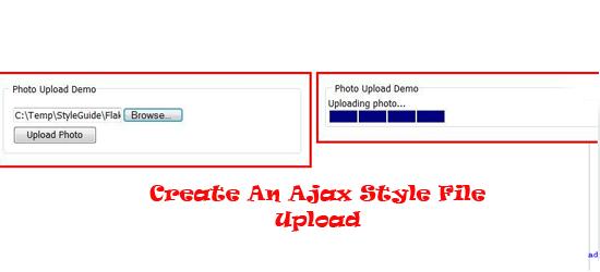 Ajax-Style-File-Upload