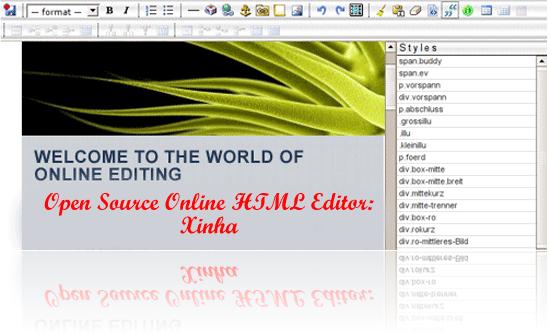 8 WYSIWYG-HTML Editor