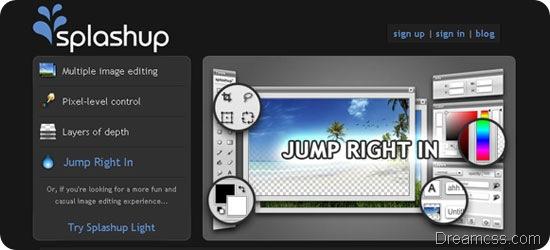 Splashup image editor 20 Useful free Online Image Editor