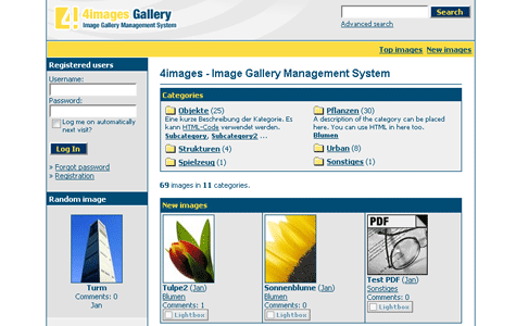 4images - Image Gallery Management System
