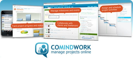 Comindwork - web based Project Management and Collaboration tool