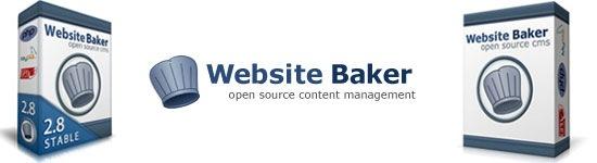Website Baker - PHP-based open source Content Management System