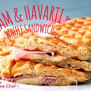 The Havarti & Ham Waffle Sandwich