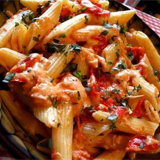 Tomato Basil Penne Pasta
