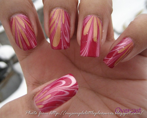 Valentine's Water Marble IMG_1788