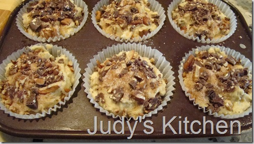 Dove Peanut Toffee Crunch Muffins (2)