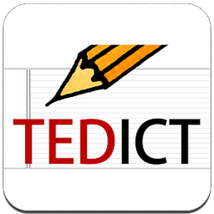 TEDICT - TED, ENGLISH (Paid) v2.6.1 APK