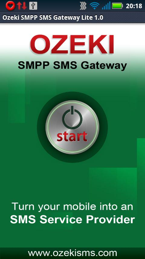 OZEKI SMPP SMS GATEWAY Lite- screenshot