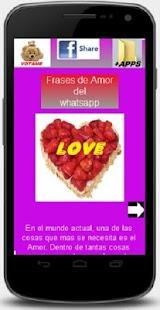 frases de amor de whatsapp - screenshot thumbnail