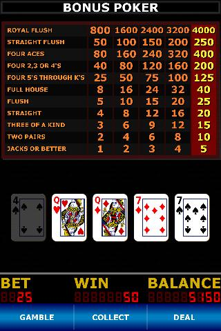 Video Poker Classic Free - screenshot