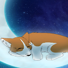 Sleeping corgi Live wallpaper icon