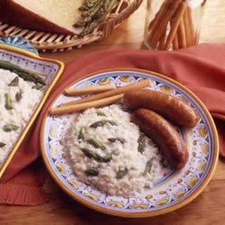 Fresh Asparagus Risotto
