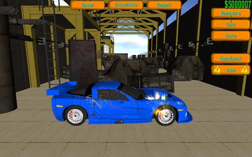 Furious Car Smash Simulation
