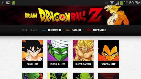 玩免費教育APP|下載How to Draw Dragon Ball Z: Pro app不用錢|硬是要APP