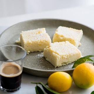 Meyer Lemon Magic Custard Cake