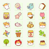 CUKI Theme Hams Spring Icon