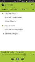 Screenshot of MeloDroid iTunes Sync & Remote