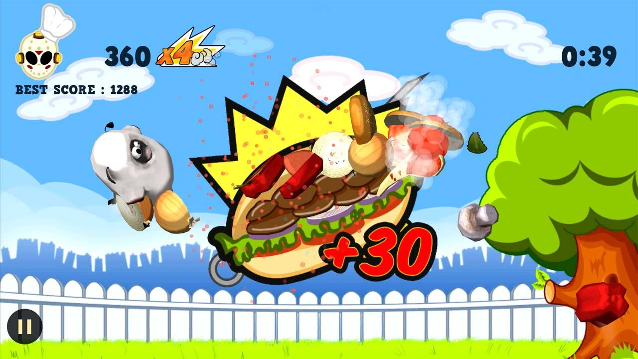 Ninja Barbecue Party App- screenshot