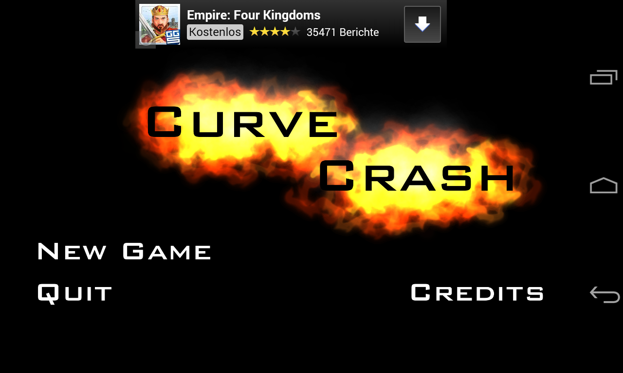 Curve Crash - screenshot