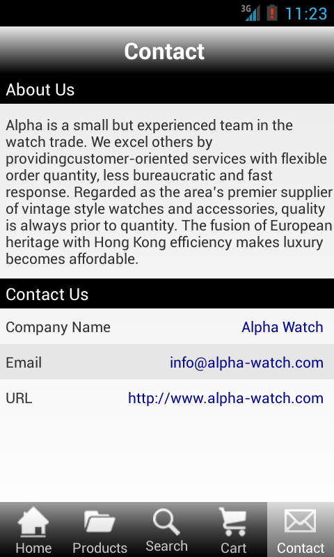 Alpha Watch- screenshot