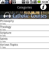 Audio Catholic Courses - screenshot thumbnail