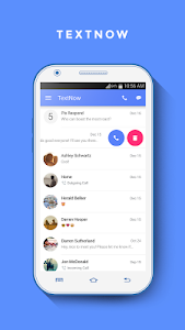 TextNow - free text + calls 5 9 0 + (AdFree) APK for Android