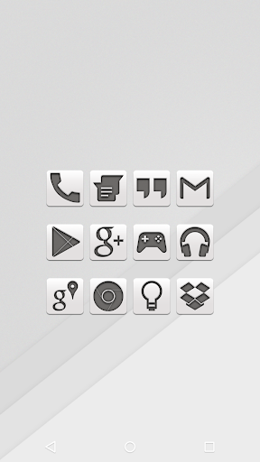 White - Icon Pack