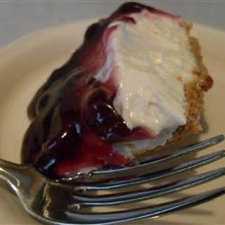 Cherry Cheesecake Pie.