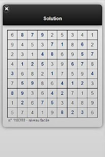e-sudoku.fr- screenshot thumbnail
