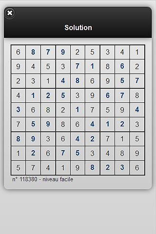 e-sudoku.fr- screenshot