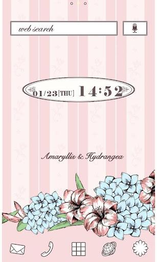 Antique Hydrangea Wallpaper 1.0 Windows u7528 1