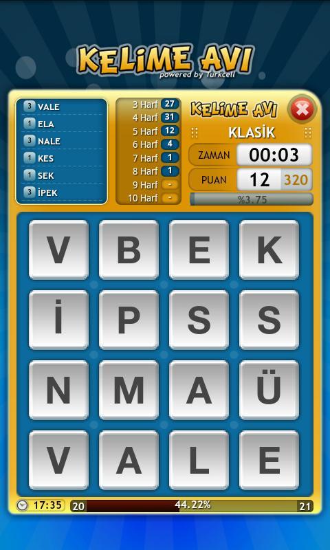 Kelime Avı - screenshot