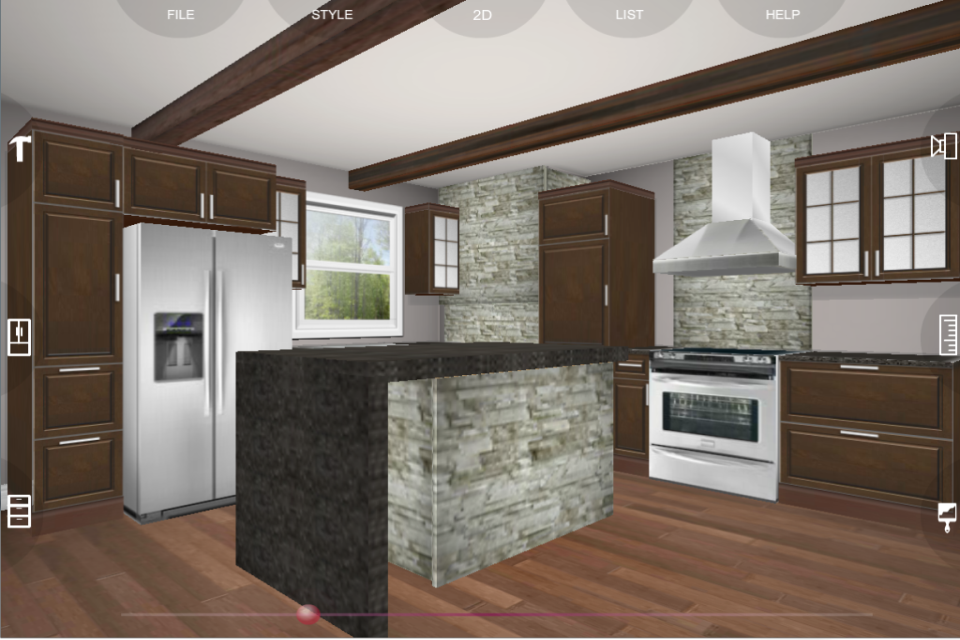 Kitchen Planner eurostyle kitchen 3d design - android apps on google play