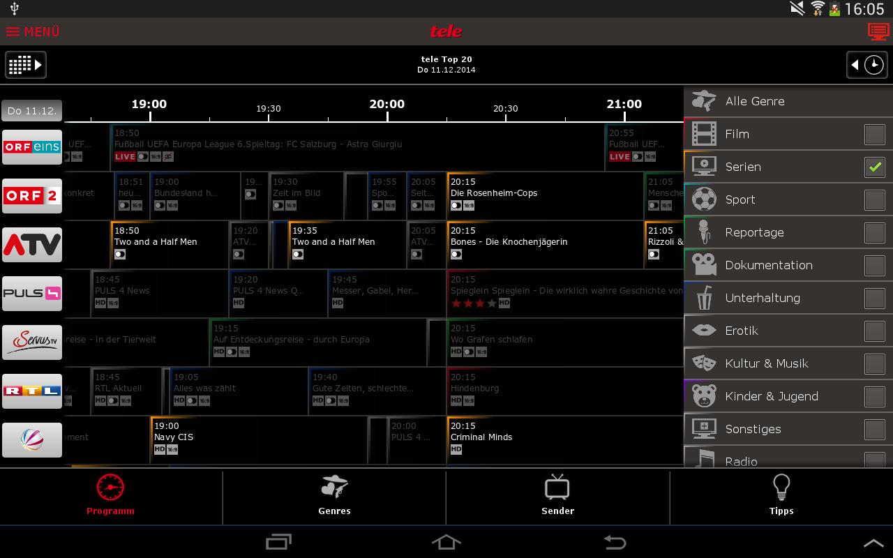 fernsehprogramm app