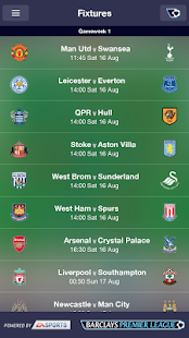 Fantasy Premier League 2014/15 - screenshot thumbnail