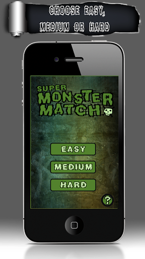 【免費解謎App】Super Monster Match-APP點子