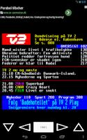 Screenshot of DR/TV2 Tekst TV
