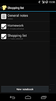 Screenshot of Simple Notes