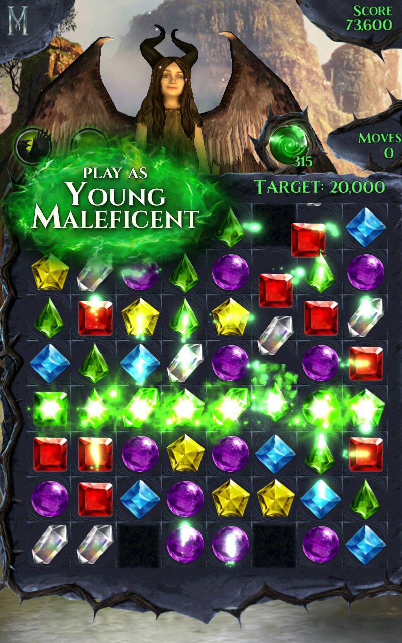 Maleficent Free Fall screenshot #2
