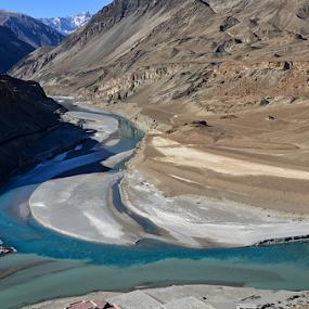 Confluence by Kaushik Dolui - Landscapes Mountains & Hills ( landscape )