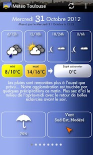 Météo Toulouse - screenshot thumbnail