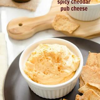 Spicy Cheddar Pub Cheese.