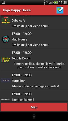 Riga Happy Hours