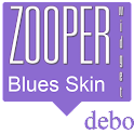Blues Zooper Skin