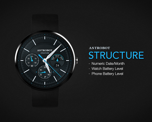 Structure watchface by Astrobo