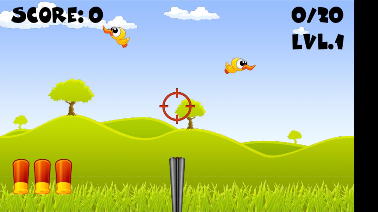 Πυροβολήστε τις Πάπιες - screenshot