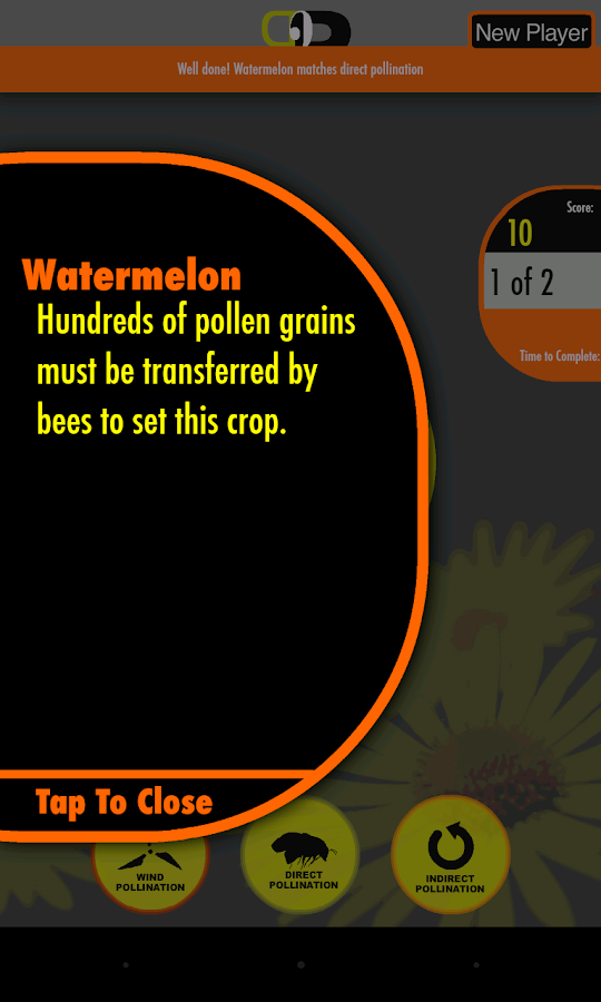 Pollination 2 Plate- screenshot