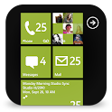 GOSMS WP8 Lime Theme