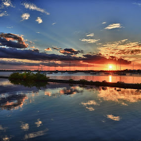 Safe Harbor by Bo Chambers - Landscapes Waterscapes (  )